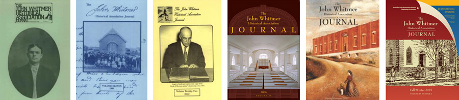A collection of cover art from past issues of the journal